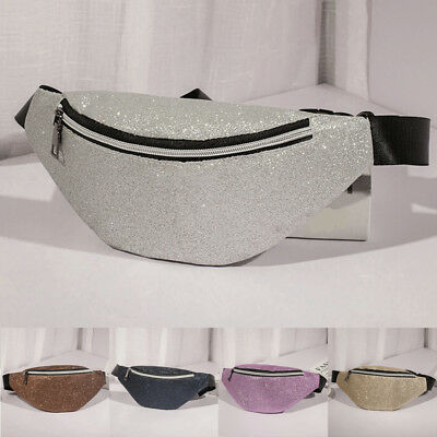 Women Lady Waist Fanny Pack Chest Bum Bag Zip Pouch Travel Beach Hip Purse New