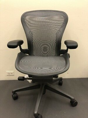 Herman Miller  Aeron Chair Floor Models Size B Office Designs Outlet
