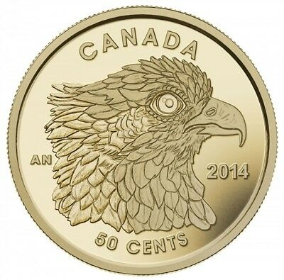 Osprey CANADA 2014 - 50 Cents - 1/25 oz. Pure Gold Coin -