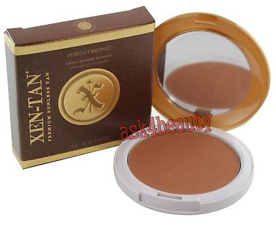 Xen Tan Perfect Bronze Sheer Powder Bronzer .42oz/12g New In Box
