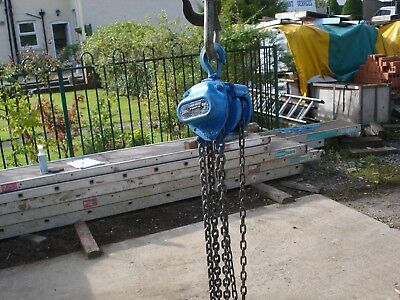 1000kgs chain hoist block and tackle pulley block engine lift