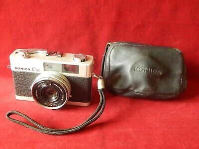 Vintage Konica C35 Film Camera Old