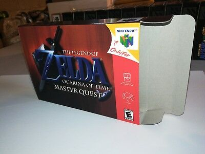 Legend of Zelda: Ocarina of Time Master Quest Box Only N64 Replacement Art Box!