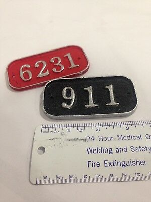 gamewell fire alarm box number tag