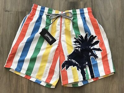 06489a63b3 NWT Vilebrequin Moorea Swim Trunks Shorts Striped Mens Size Small (27-30)  $250