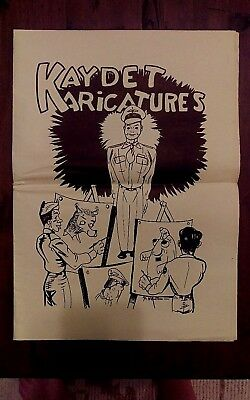 EXTREMELY RARE WW2 Kaydet Karicatures Cartoons Newspaper