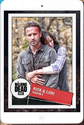 TOGETHER MARATHON WAVE 2 RICK & LORI Topps Walking Dead Trader Digital Card