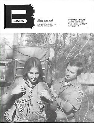 B-LINER/BRANIFF EMPLOYEE MAGAZINE - JANUARY to DECEMBER, 1977 (6 ISSUES)