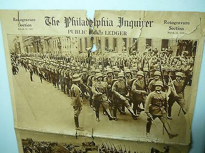 INQUIRER 1936 WW2 Germany Troops;Philadelphia Art- Chestnut St houses; Babe Ruth