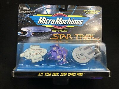 Vintage Micro Machines XII Star Trek: Deep Space Nine Space Vehicle Set HTF 1995