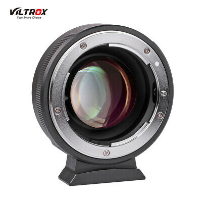 Viltrox Lens Adapter Ring 0.71X Reducer Focal Speed Booster Mount to M4/3