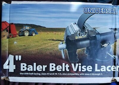 "Universal 4"" Clipper Baler Belt Vise Lacer R-4"" *NEW"