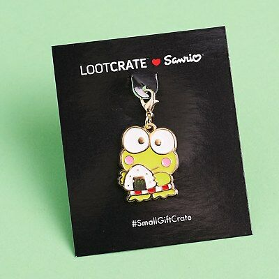 Sanrio Loot Crate KEROPPI CHARM Hello Kitty VACATION LootCrate EXCLUSIVE