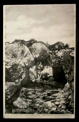 ARKANSAS CITY, KS, Natural Rock Bridge, Kansas 1907