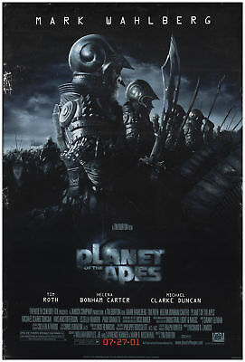 Planet of the Apes 2001 27x41 Orig Movie Poster FFF-70887 Rolled Tim Roth