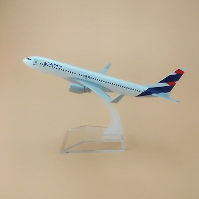 16cm Airplane Model Plane Air Chile LATAM Airlines Boeing 737 B737 Aircraft Gift