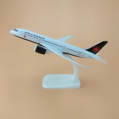 NEW 20cm Airplane Model Plane Air Canada Boeing 787 B787 Airlines Aircraft Gift