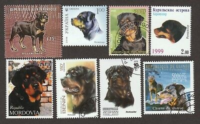 ROTTWEILER ** Int'l Dog Stamp Collection ** Great Gift Idea*