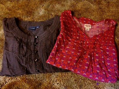 Women's Lot of Two Tops Shirts Size S Sonoma and Mossimo Supply