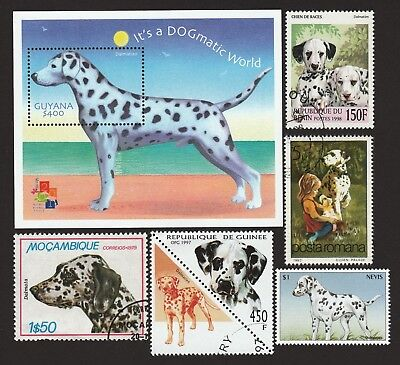 DALMATIAN ** Int'l Dog Stamp Collection ** Great Gift Idea*
