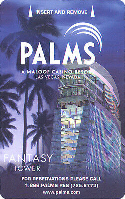 Las Vegas Palms Casino Fantasy Tower #4 - Room Key