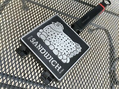 Sandwich Press - cast iron and non-stick surface - Taylor & NG, 1991 vintage