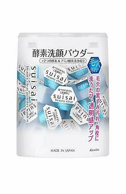 Kanebo Suisai Beauty Clear Enzyme Cleansing Powder 0.4g x 15 or 32 pieces Japan