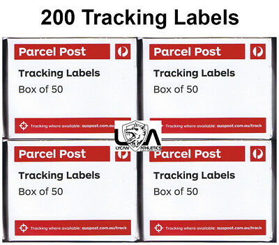 200 x Australia Post Tracking Labels 200 (4 Boxes) Free Postage
