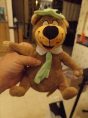 "Yogi Bear Hanna Barbera Plush Doll Toy Figure Stuffed Animal 9"" Bean Bag"