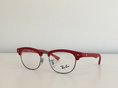 7785568c9d A94 Ray Ban RB 1548 3651 Cat Eye Junior s Red Eyeglasses Optical Frame 45-16