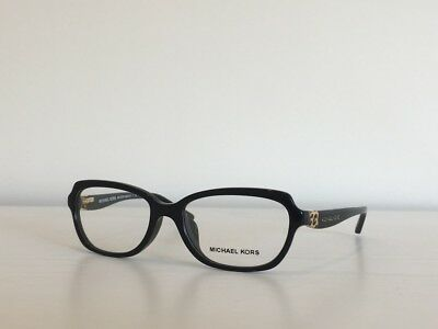 8070125462 161 Michael Kors MK 4025F 3005 Sadie IV Rectangle Black Eyeglasses 51 16 135