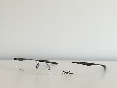 605c25ae1e 130 Oakley OX5118-0153 Wingfold EVR Rectangle Eyeglasses Satin Pewter 53 -18-139