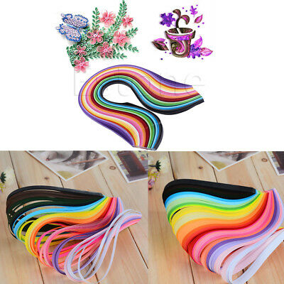 Strips DIY Origami Art Mixed 3/5/7/10mm Craft Paper 260 Stripes Paper  Quilling