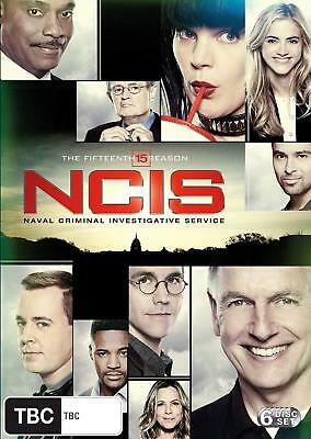 NCIS Season 15 DVD [New/Sealed] Region 2 UK Compatible OFFICIAL RELEASE