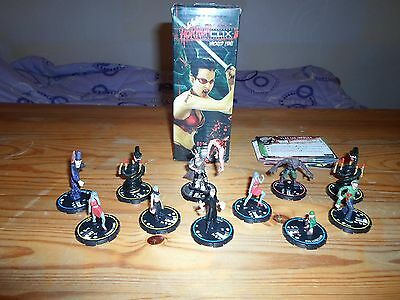 HorrorClix Lot - 11 figures + sealed booster