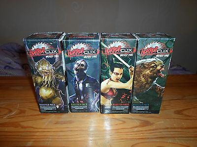 4 x HorrorClix boosters Base Set