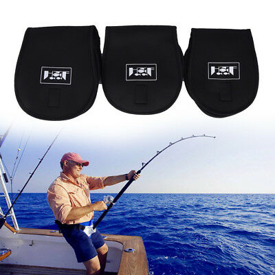 Fishing Reel Bag Protective Cover Spinning Reel Protective Case Sleeve Fishin EO