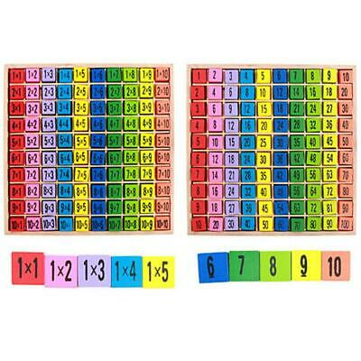 New Educational Toy for Children 99 Multiplication Table Math Teaching Aids FI