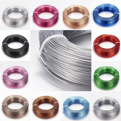 1 Roll 2mm Florist Aluminum Wire For DIY Crafts Jewellery Making  about 58m/roll