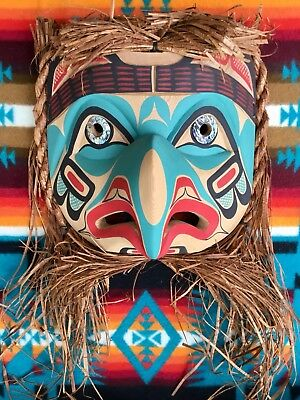 First Nations Northwest Coast Thunderbird Mask.