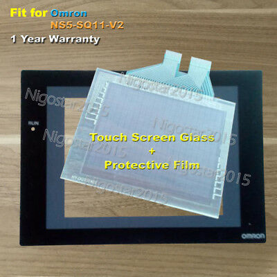 for Omron NS5-SQ11-V2 Touch Screen Glass with Protective Film 1 Year Warranty
