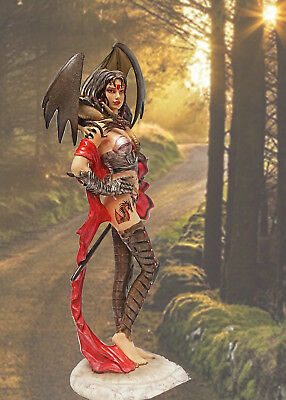 "Nene Thomas ""guardian"" Witch Warrior Dragon & Sword Fairysite Nt164 Statue Figur"