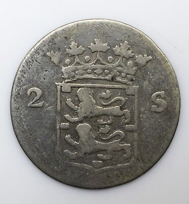 1778 Netherlands Two 2 Stuivers - Lot 57