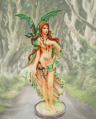 "Nene Thomas ""oracle"" Celtic Witch Warrior Dragon & Dagger Fairysite Nt161 Le2400"