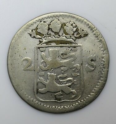 1732 Netherlands Two 2 Stuivers - Lot 162