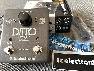 TC Electronic Ditto X2 - intuitiver Stereo Looper mit Effekten - Demo