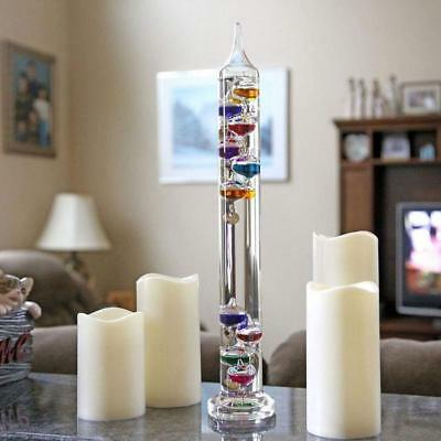 Science Museum Galileo Galilean Colourful Ball Thermometer Floating Reading