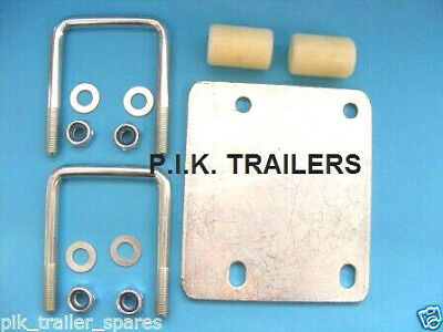Easy-Fit Jockey Wheel Clamp Fixing Kit for 50mm & 60mm drawbars         #191