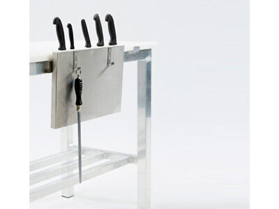 Professional Butchers Knife rack with hooks Chef/Kitchen/Cutlery