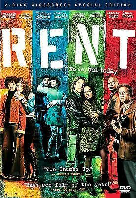 Rent (DVD, 2006, 2-Disc Set, Special Edition Widescreen)  (Free Shipping)